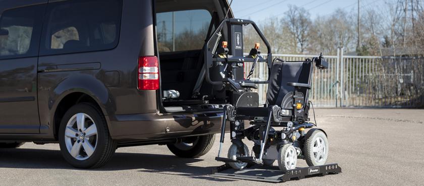 Kivi joey lift joey lift permette di sollevare for Joystick per sedia a rotelle